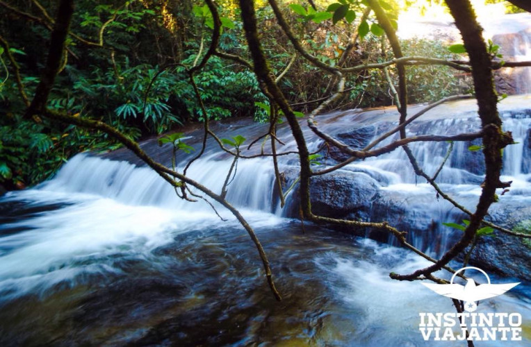 Cachoeira da Toca, em Ilhabela, São Paulo