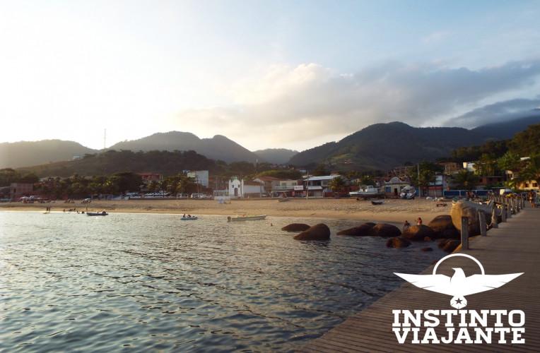 Porto de Conceição de Jacareí, cidade continental mais próxima de Ilha Grande/RJ