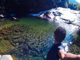 viajante cachoeira
