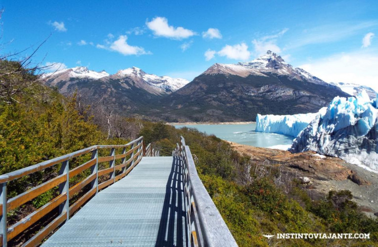 El Calafate - Passarelas do Glaciar Perito Moreno