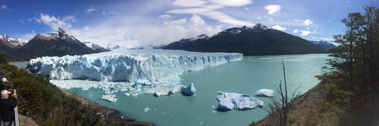 El Calafate. Glaciar Perito Moreno na Patagônia argentina