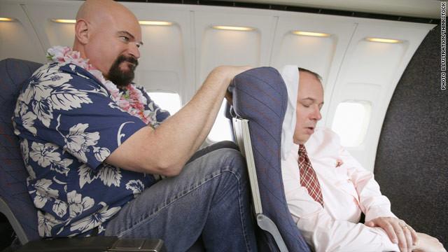 jet lag assentos apertados
