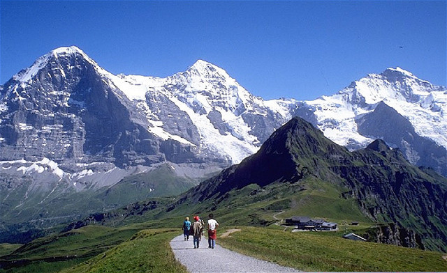 altitude nos alpes suicos