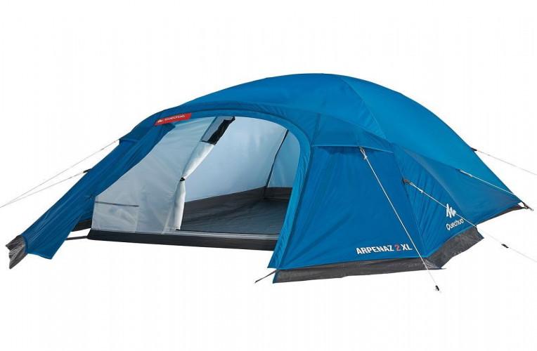 Minha barraca de camping Arpenaz 2XL, da Quechua