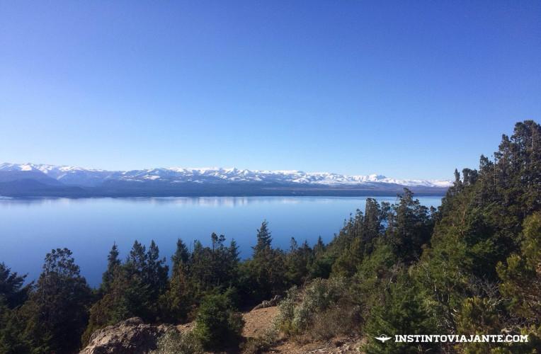 Vista do Cerro Otto, em Bariloche, Argentina - Instinto Viajante