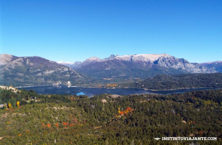 Vista do mirante do Cerro Campanario, em Bariloche, Patagônia, Argentina - Instinto Viajante