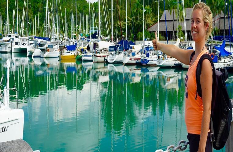 carona em barcos e veleiros